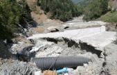 122 yıllık tarihi köprü selde büyük zarar gördü