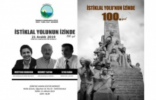 Erkekarpa Köyü Derneği İstiklal Yolu'nun izinde