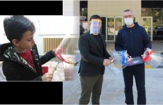3 Boyutlu Yazıcıdan maske üretip sağlıkçılara...
