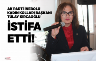 AK Parti İnebolu Kadın Kolları Başkanı Tülay...