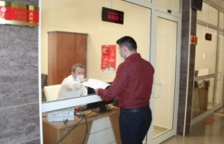 İnebolu Adliyesinde Ön Büro Sistemi uygulaması...