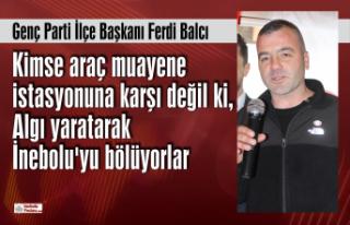 Genç Parti İlçe Başkanı Ferdi Balcı'dan...