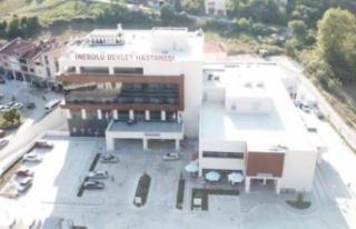 İnebolu Devlet Hastanesi 2020'de rekora gitti