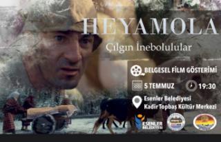 'Heyamola Çılgın İnebolular' belgeseli İstanbul'da...