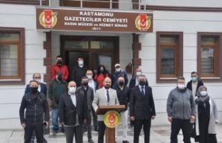 """KGC Başkanı Erkan Yılmaz """"Gazeteciler asla yalnız..."""