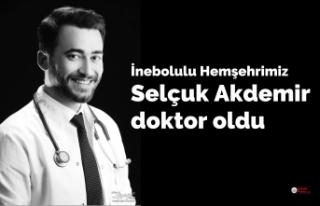 Selçuk Akdemir doktor oldu