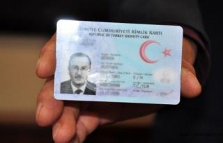 İnebolu Nüfus Müdürlüğü'nden kimlik kartı...
