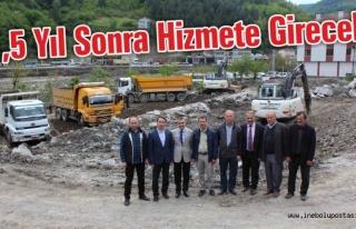 İnebolu Yeni Devlet Hastanesi inşaatı başladı