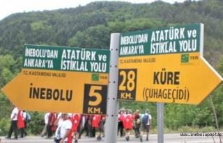İstiklal Yolu'na Milli Park tacı