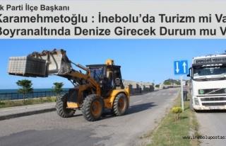 Karamehmetoğlu; Ne turizm mi, Boyran Altında denize...