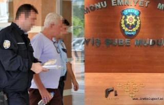 Kuyumcu dolandırıcısı İnebolu'da otelde yakalandı
