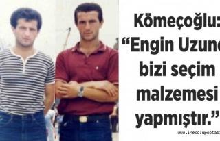 Saim Kömeçoğlu'ndan Uzuner'e Cevap