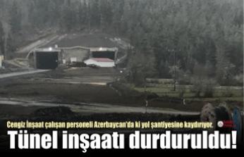 İnebolu Yolu Tünel İnşaatı Durduruldu