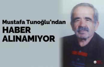 Mustafa Tunoğlu kayıp...