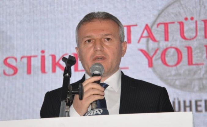 """Milletvekili Çelik: """"İstiklal mücadelemizi güvenle geleceğe inşallah taşımaya devam edeceğiz"""""""