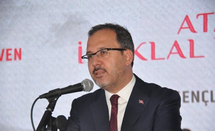 """Bakan Kasapoğlu: """"Tarihte İnebolu'nun yeri başkadır"""""""